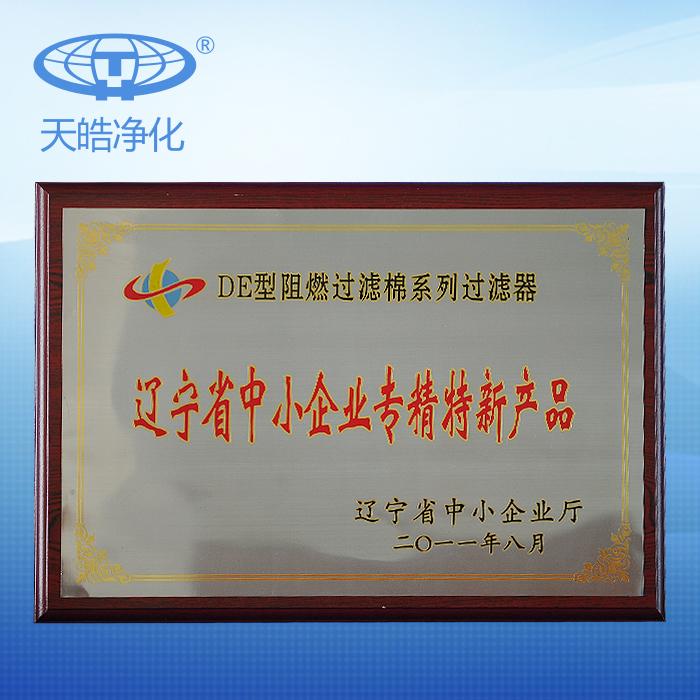 辽宁省中小企业专精特产新产品